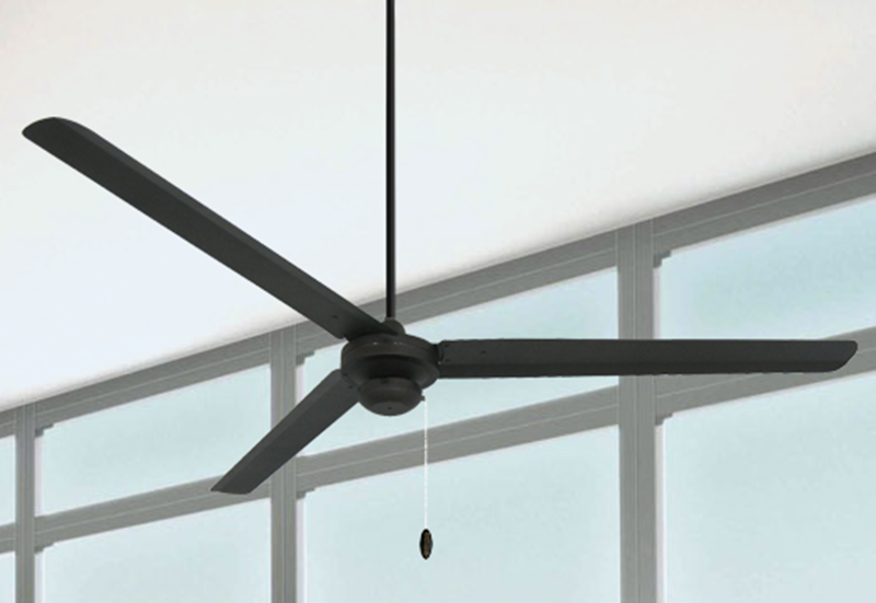 Picture of Tornado 72 in Oil Rubbed Bronze Industrial Ceiling Fan