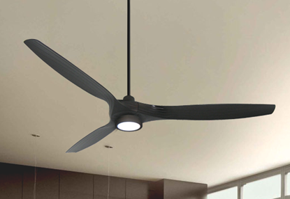 Picture of Solara 60 in. WiFi Enabled Indoor-Outdoor Oil Rubbed Bronze Ceiling Fan with 15W LED Light and Remote