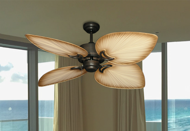 """Picture of Bombay Oil Rubbed Bronze with 50"""" Bombay Tan Blades"""