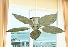 """Picture of 52"""" Venetian Lighted Ceiling Fan in Driftwood"""