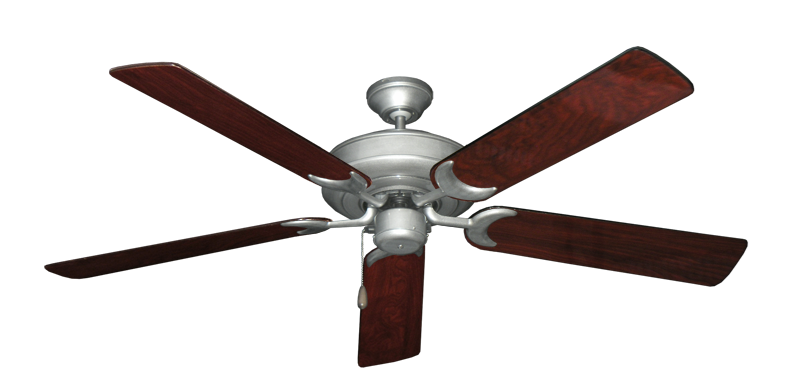 """Picture of Raindance Brushed Nickel BN-1 with 56"""" Cherrywood Gloss Blades"""