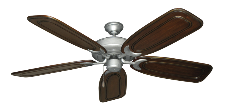 "Picture of Raindance Brushed Nickel BN-1 with 58"" Series 800 Arbor Chestnut Blades"