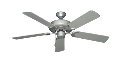 "Raindance Brushed Nickel BN-1 with 52"" Outdoor Brushed Nickel Blades"