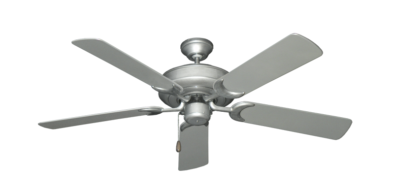 "Picture of Raindance Brushed Nickel BN-1 with 52"" Outdoor Brushed Nickel Blades"