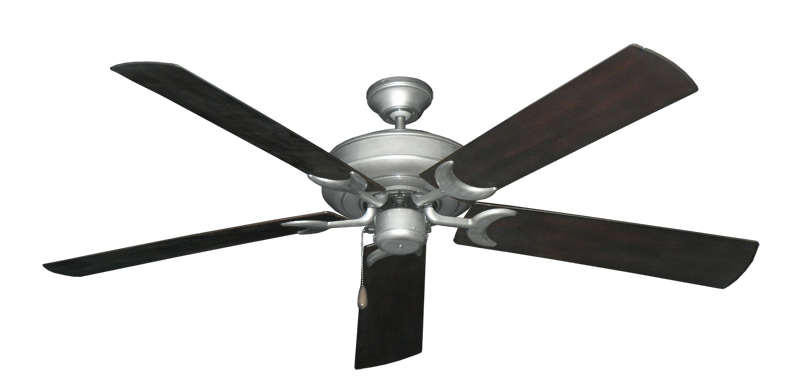 "Picture of Raindance Brushed Nickel BN-1 with 60"" Outdoor Oil Rubbed Bronze Blades"