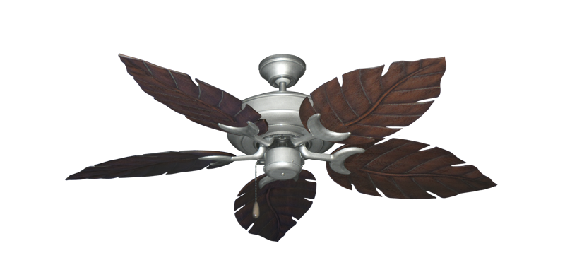"Picture of Raindance Brushed Nickel BN-1 with 52"" Venetian Oil Rubbed Bronze Blades"