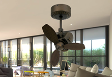 Picture of Mustang 18 in. Oscillating Indoor/Outdoor Rubbed Bronze Ceiling Fan