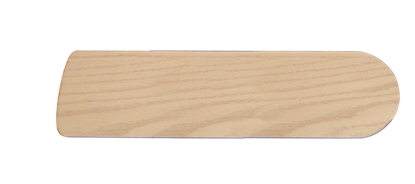 """Picture of 52"""" Bleached Oak Gloss Blades (P-Series)"""