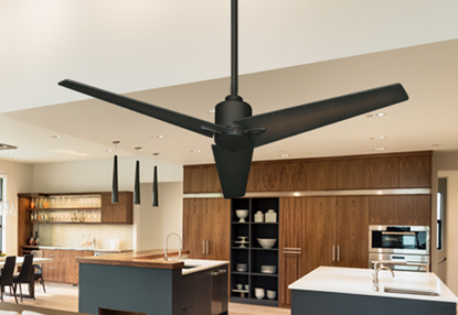 "Picture of Reveal 52"" WiFi Enabled Indoor/Outdoor Modern Ceiling Fan in Oil Rubbed Bronze with Remote"