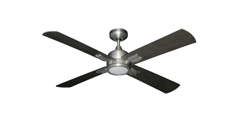 """Picture of Captiva 52"""" Indoor Contemporary Ceiling Fan with Remote and 15W LED Light"""