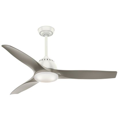 "Picture of Casablanca  52"" Wisp Fresh White Ceiling Fan with LED Light and Handheld Remote, Model 59151"