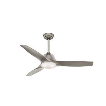 "Picture of Casablanca  52"" Wisp Pewter Ceiling Fan with LED Light and Handheld Remote, Model 59152"