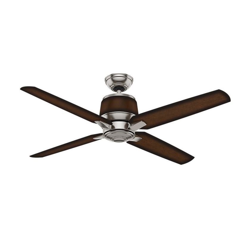 """Picture of Casablanca  54"""" Aris Brushed Nickel Ceiling Fan with Wall Control, Model 59123"""