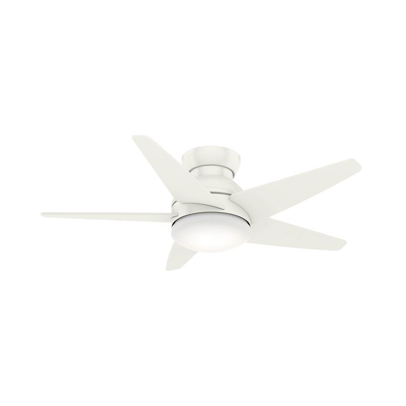 "Picture of Casablanca  52"" Isotope Fresh White Ceiling Fan with Light with Wall Control, Model 59354"