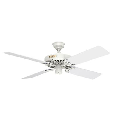 "Hunter  52"" Outdoor Orig White Blades 52 White Ceiling Fan , Model 23845"