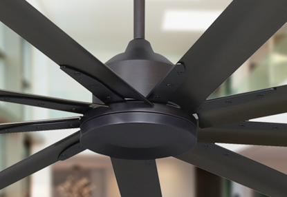 Liberator 96 in. WiFi Enabled Indoor/Outdoor Oil Rubbed Bronze Ceiling Fan with Remote