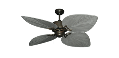 "Picture of Bombay Oil Rubbed Bronze with 50"" Bombay Brushed Nickel (BN-1) Blades"