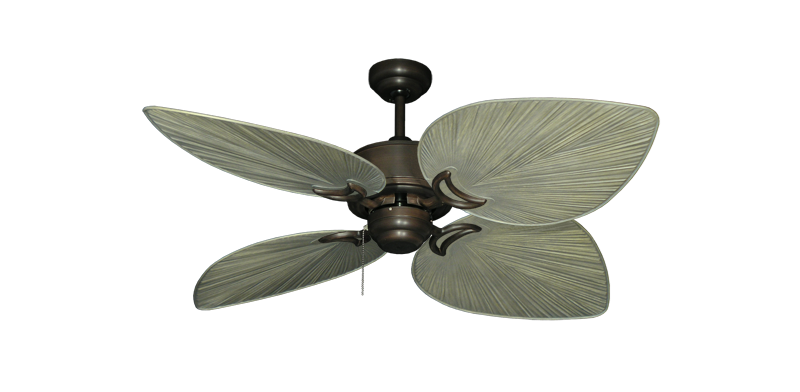 """Picture of Bombay Oil Rubbed Bronze with 50"""" Bombay Driftwood Blades"""