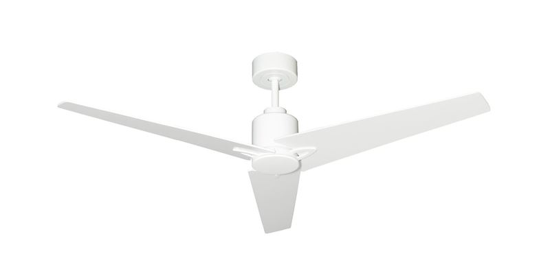 """Picture of Reveal 52"""" WiFi Enabled Indoor/Outdoor Modern Ceiling Fan in Pure White with Remote"""