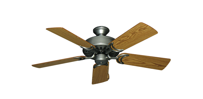 """Picture of Dixie Belle Brushed Nickel with 44"""" Oak Blades"""