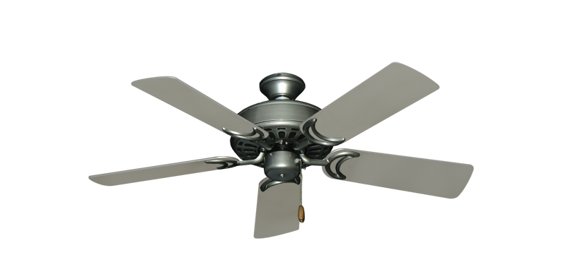 """Picture of Dixie Belle Brushed Nickel with 44"""" Satin Steel (painted) Blades"""