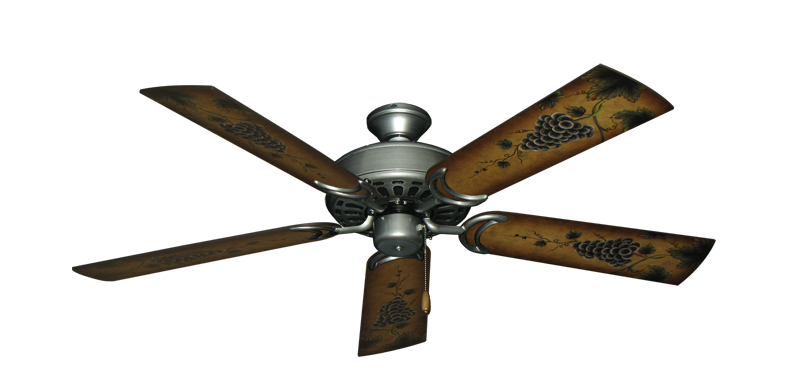 "Picture of Dixie Belle Brushed Nickel with 52"" Series 353 Arbor Grapes Blades"