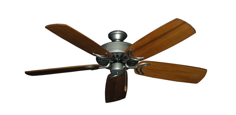"Picture of Dixie Belle Brushed Nickel with 52"" Series 425 Arbor Oak Blades"