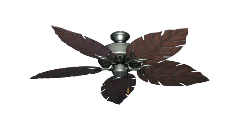 """Picture of Dixie Belle Brushed Nickel with 52"""" Venetian Oil Rubbed Bronze Blades"""