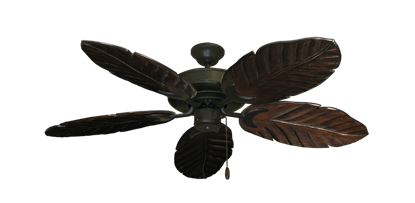 "Picture of Raindance Oil Rubbed Bronze with 52"" Series 125 Arbor Dark Walnut Blades"