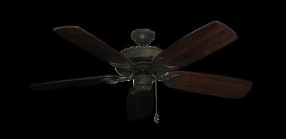 "Raindance Oil Rubbed Bronze with 52"" Series 425 Arbor Cherrywood Blades"