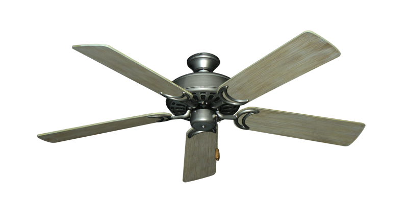 "Picture of Dixie Belle Brushed Nickel with 52"" Driftwood Blades"