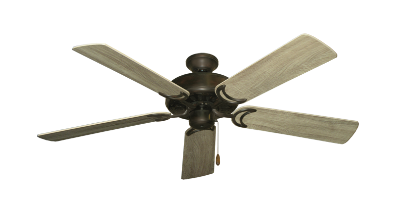 "Picture of Dixie Belle Oil Rubbed Bronze with 52"" Beachwood Blades"