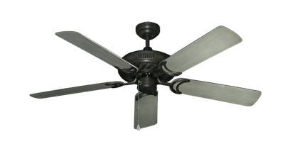 "Picture of Atlantis Oil Rubbed Bronze with 52"" Outdoor Brushed Nickel BN-1 Blades"