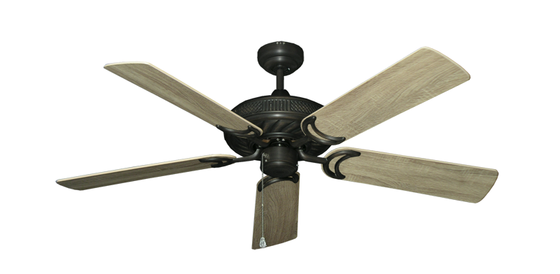 "Picture of Atlantis Oil Rubbed Bronze with 52"" Beachwood Blades"
