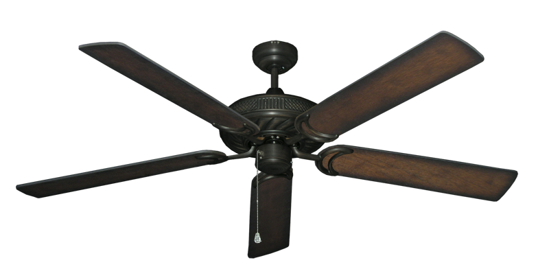 "Picture of Atlantis Oil Rubbed Bronze with 60"" Distressed Hickory Blades"