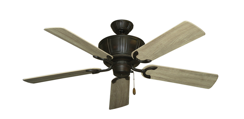"""Centurion Oil Rubbed Bronze with 52"""" Beachwood Blades"""