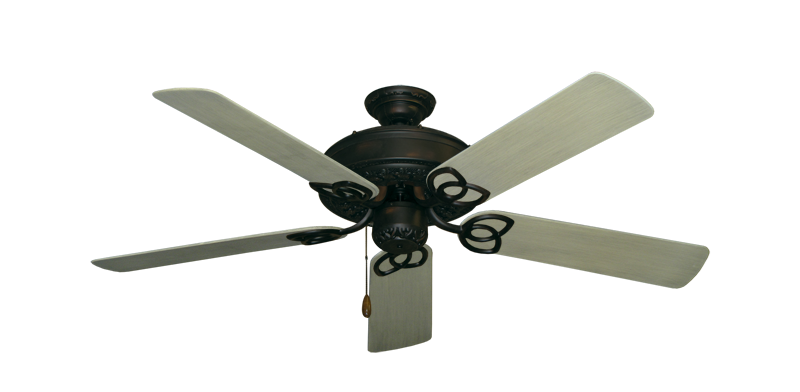 "Picture of Renaissance Oil Rubbed Bronze with 52"" Outdoor Driftwood Blades"