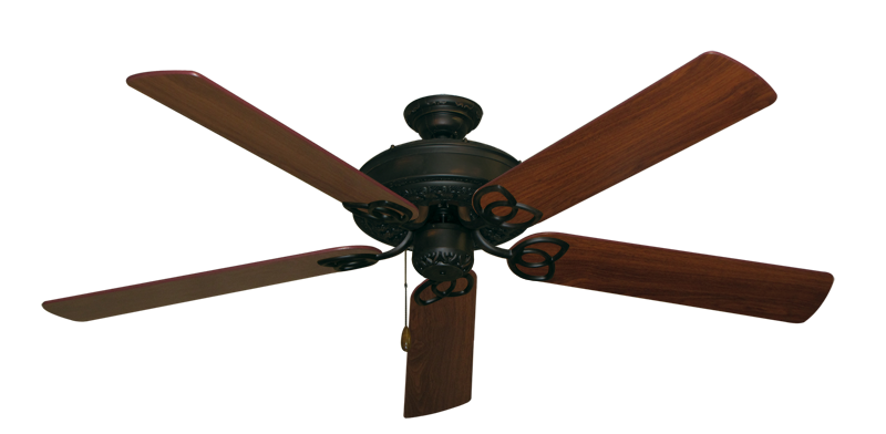 """Picture of Renaissance Oil Rubbed Bronze with 60"""" Walnut Blades"""