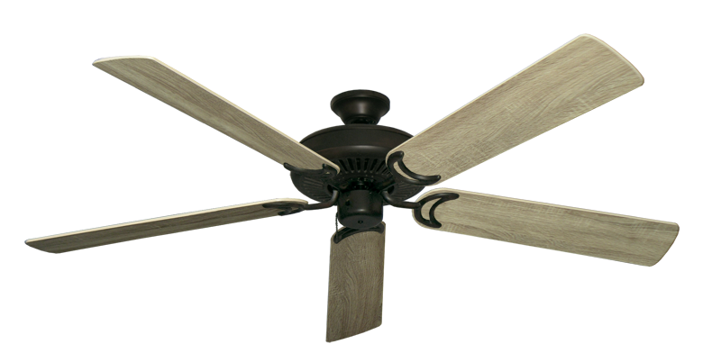 """Picture of Riviera Oil Rubbed Bronze with 60"""" Beachwood Blades"""
