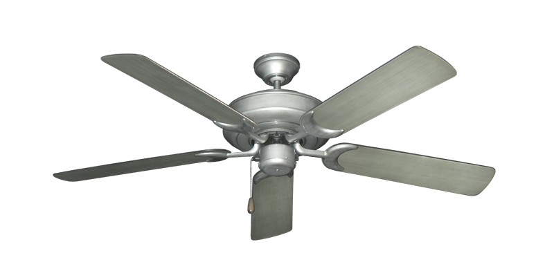"Picture of Raindance Brushed Nickel BN-1 with 52"" Outdoor Brushed Nickel BN-1 Blades"