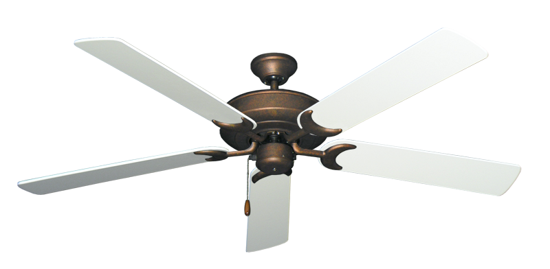 """Picture of Raindance Burnished Copper with 60"""" Pure White Blades"""