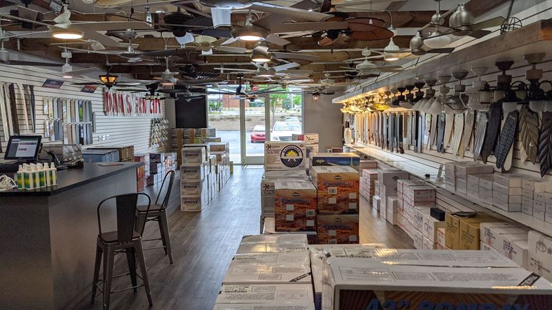 Dan's Fan City: Marietta, GA (Interior)