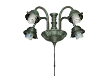 49 4-Light Fountain Fitter (Glass Sold Separately)