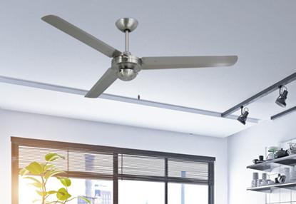 Tornado 56 in. Indoor/Outdoor Stainless Steel s316 Ceiling Fan