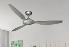 Vogue 60 in. WiFi Enabled Indoor/Outdoor Brushed Nickel Ceiling Fan (bn-1)