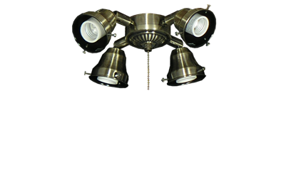 Picture of 45 4-Light Adjustable Fitter (Glass Sold Separately)