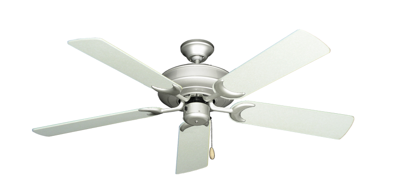 Raindance Ceiling Fan In Brushed Nickel With 52 Quot Navajo