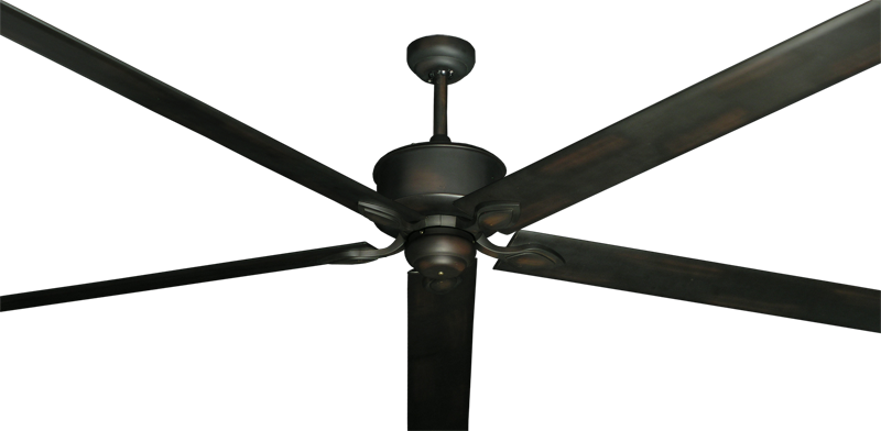 Hercules Ceiling Fan In Oil Rubbed Bronze With 96