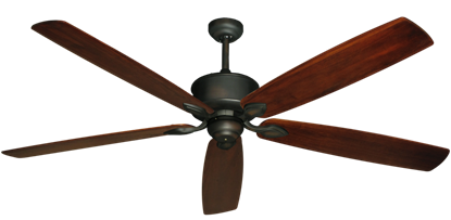 "Picture of Hercules Oil Rubbed Bronze with 72"" Series 750 Arbor Cherrywood Blades"