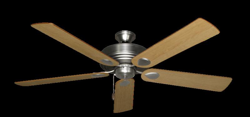 Futura ceiling fan in satin steel with 60 maple blades dans fan futura satin steel with 60 maple blades aloadofball Gallery